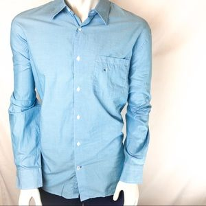 EXPRESS Long Sleeve Button Down Casual Shirt